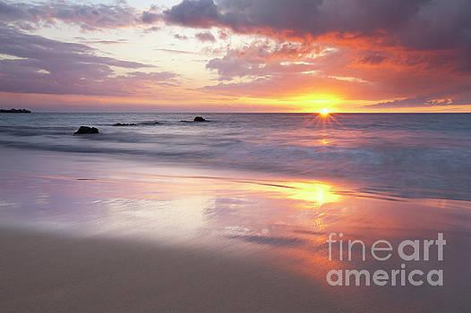 Charmian Vistaunet - Ocean Sunset - Hapuna Beach