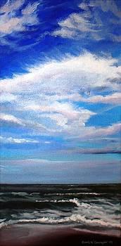 Ocean View from Assateague Island by Sarah Grangier