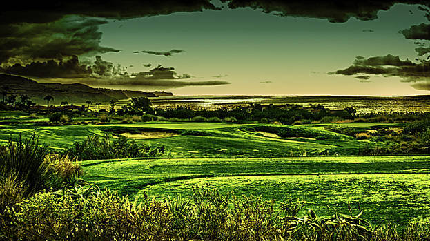 Ocean View Golf Course by Joseph Hollingsworth