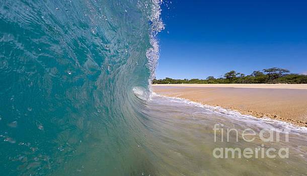 Ocean Wave Barrel by Dustin K Ryan