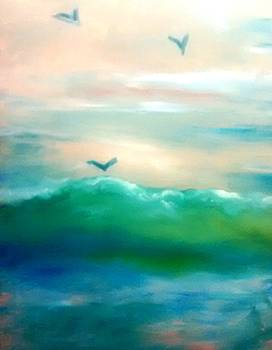 Patricia Taylor - Ocean Wave with Light