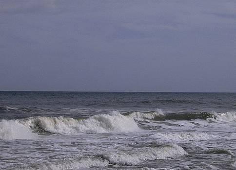 Ocean Waves  by Linda Bennett