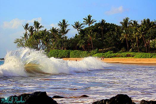 Ocean Waves of Maui by Michael Rucker
