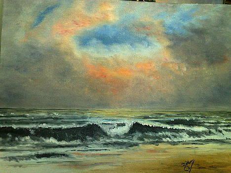 Ocean Waves by Zak