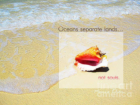 Oceans Separate Lands by Joseph Re