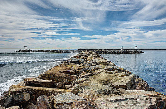 Oceanside Jetty by Ann Patterson
