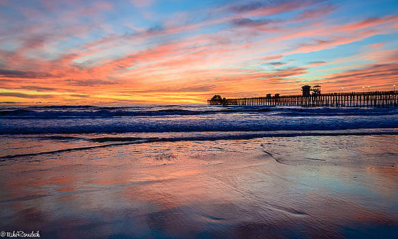 Oceanside Sunset by Mike Ronnebeck