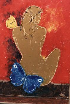 Ochre Model in Red by Mohd Raza-ul Karim