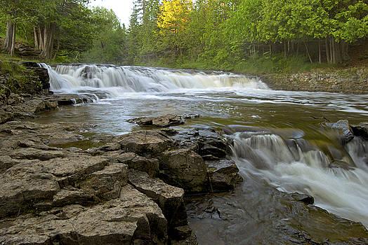Ocqueoc Falls by Michael Peychich
