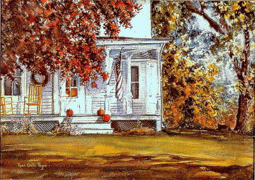 October House  by June Conte  Pryor