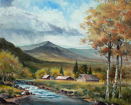 October in the Valley by Tina Bohlman