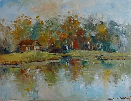 October reflections by Natalia Bardi