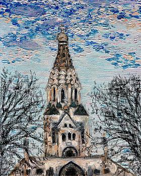 October Sky of Leipzig by Nina Nabokova