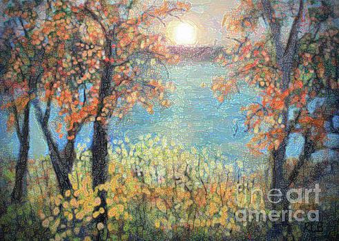 October Sunset by Rita Brown
