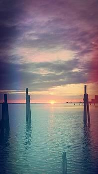 October Sunset  by Susan Bordelon