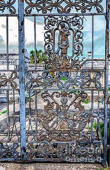 Odd Fellows Rest Cemetery Gate- NOLA by Kathleen K Parker