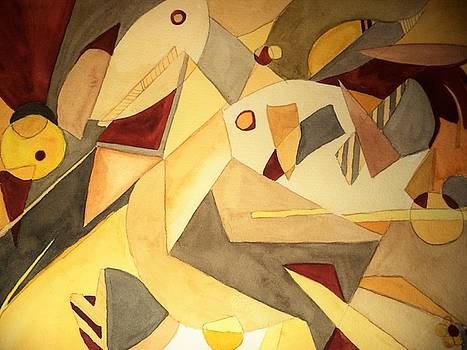 Ode to Picasso by Constance Larimer