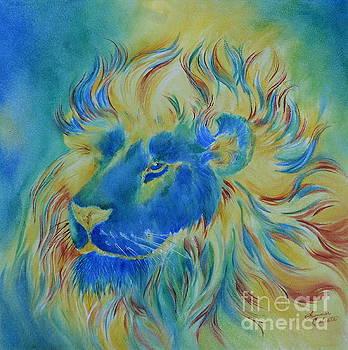 Summer Celeste - Of Another Color Blue Lion