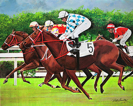 Off to the Races by Bill Dunkley