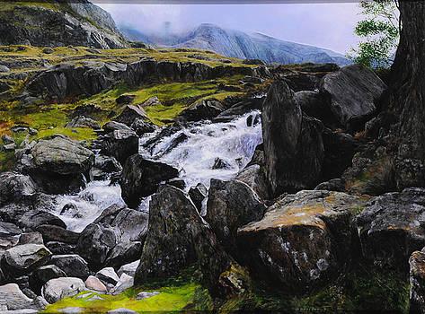 Harry Robertson - Ogwen Rock Waterfall