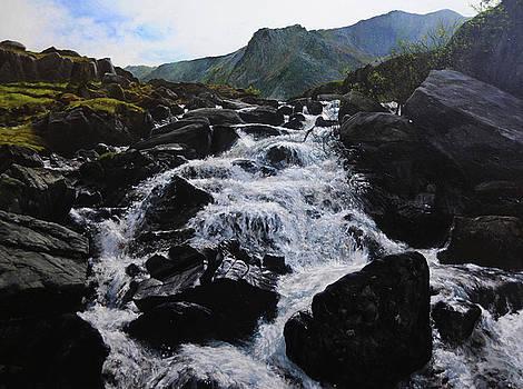 Harry Robertson - Ogwen Waterfall