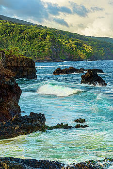 Ohe'o Gulch Ocean View by Kelley King