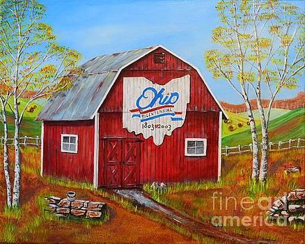 Ohio Bicentennial Barns 2 by Melvin Turner