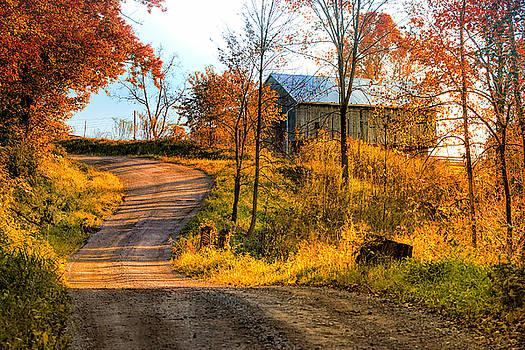 Ohio Country Autumn by Victoria Winningham