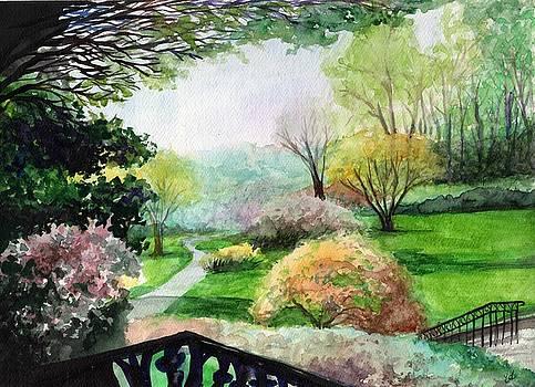 Ohio Garden by Carrie Auwaerter