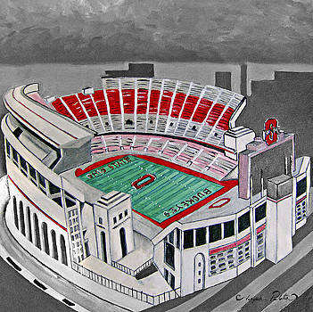 O.H.I.O Ohio State Stadium by Joseph Palotas
