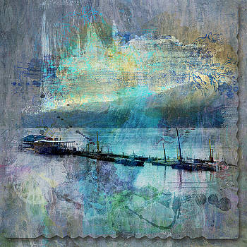 Ohio River Splatter by Diana Boyd