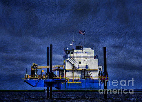Oil Rig by Dave Bosse