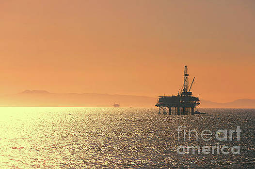Chuck Kuhn - Oil Rig Pacific Ocean