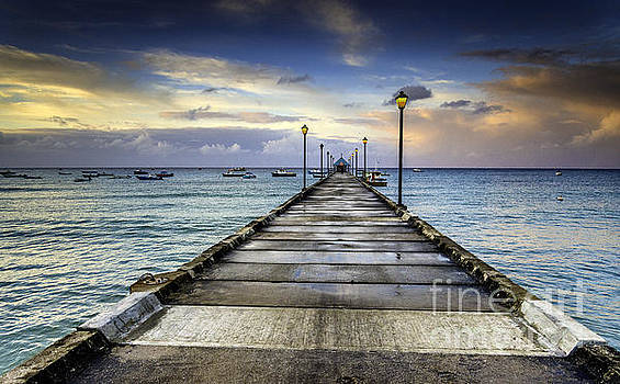 Oistins Jetty by Hugh Walker