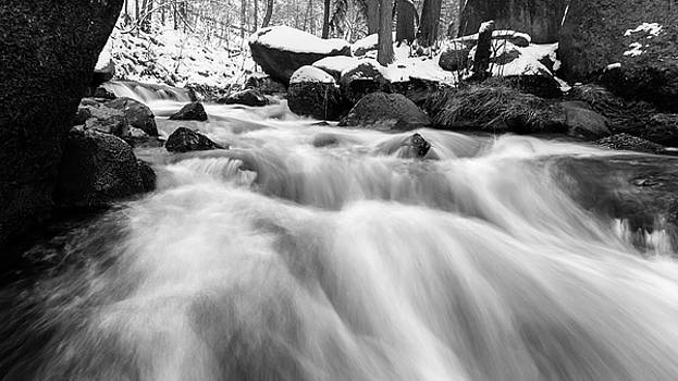 Oker, Harz in black and white by Andreas Levi