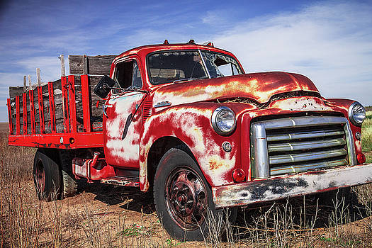 Oklahoma Field Truck by Steven Bateson