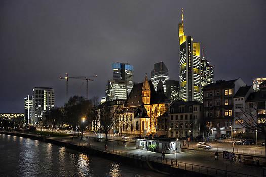 Old and new Frankfurt by Joachim G Pinkawa