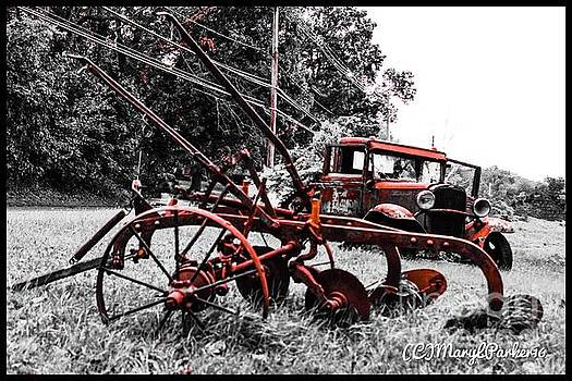 Old And  Rusty by MaryLee Parker