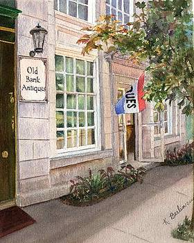 Old Bank Antiques by Katherine  Berlin