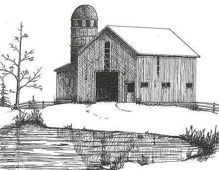 Old Barn 1 by BJ Shine