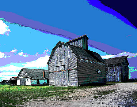 Old Barn by Charles Shoup