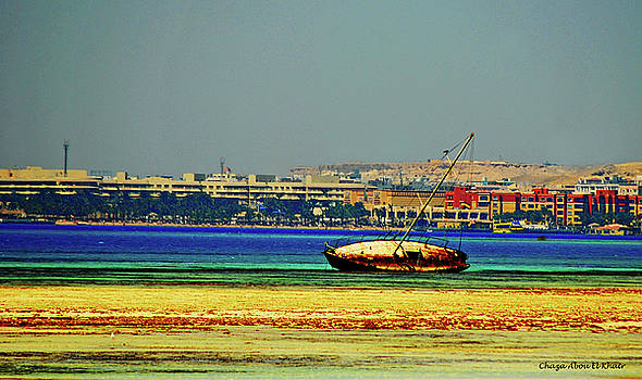 Old Barque by Chaza Abou El Khair
