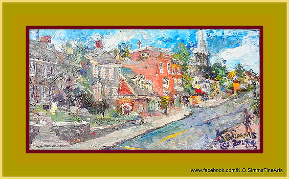 Old Brandywine Village Ii by Keith OBrien Simms