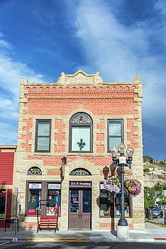 Old Brick Building in Red Lodge, Montana by Jess Kraft