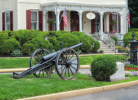 Old Cannon in Flemington New Jersey by Dave Mills