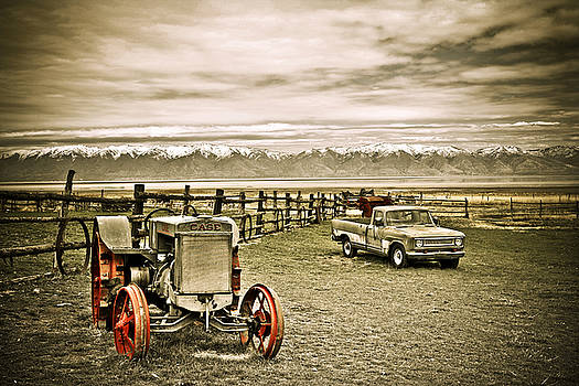 Marilyn Hunt - Old Case Tractor