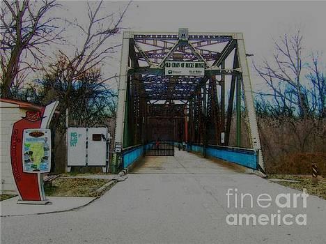 Old Chain of Rocks Bridge by Kelly Awad