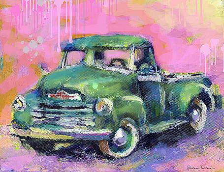 Svetlana Novikova - Old CHEVY Chevrolet Pickup Truck on a street