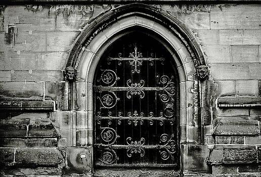 Old church door by Paul Jarrett