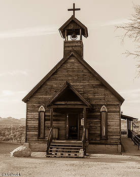 Old Church by Mike Ronnebeck